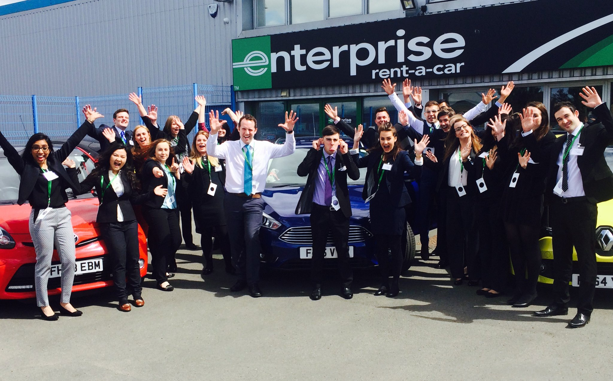Enterprise Rent-A-Car UK Employees