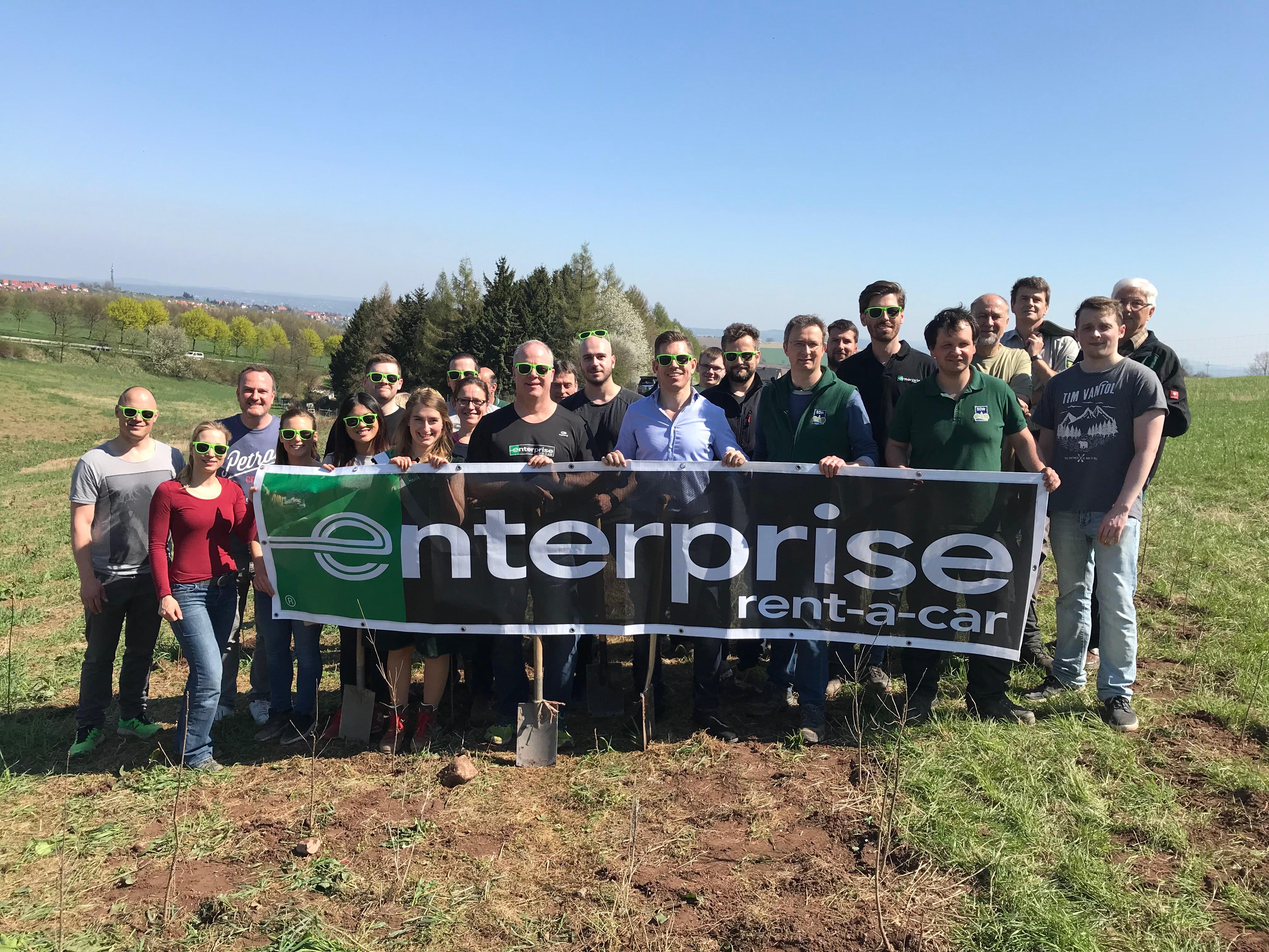 Enterprise spendet weitere 13.000 Bäume für den Klimaschutz