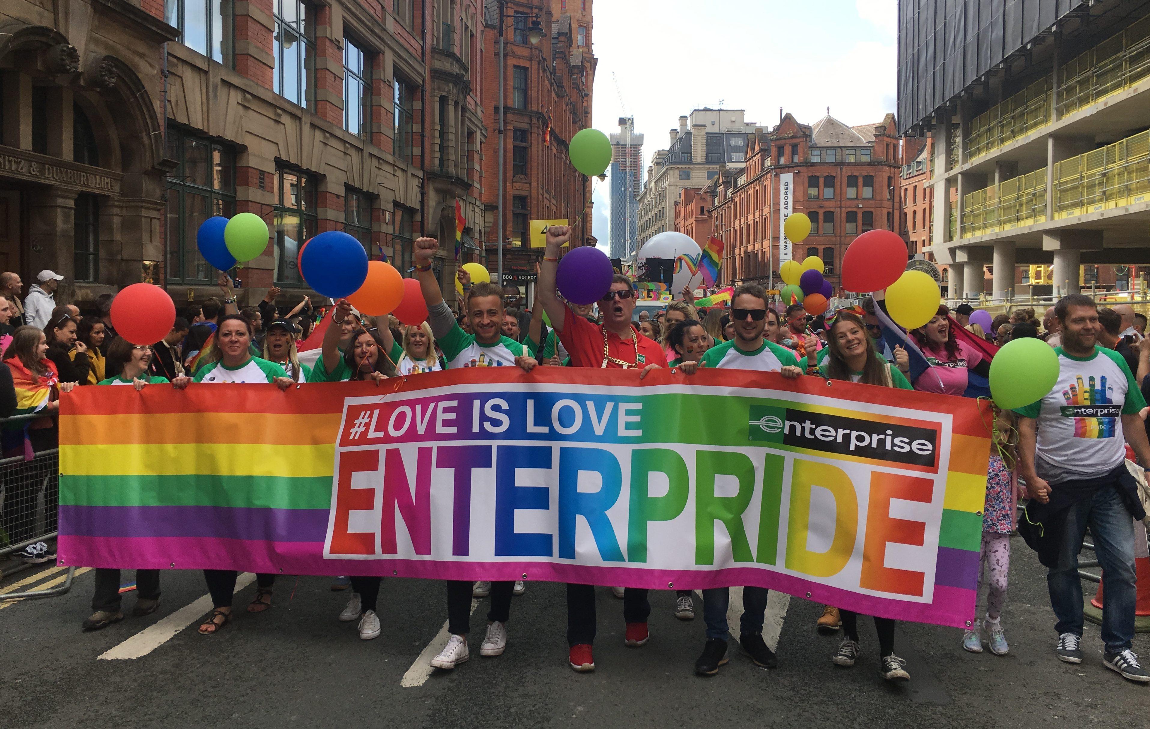 Wie LGBT-Mitarbeiter bei Enterprise Karriere machen