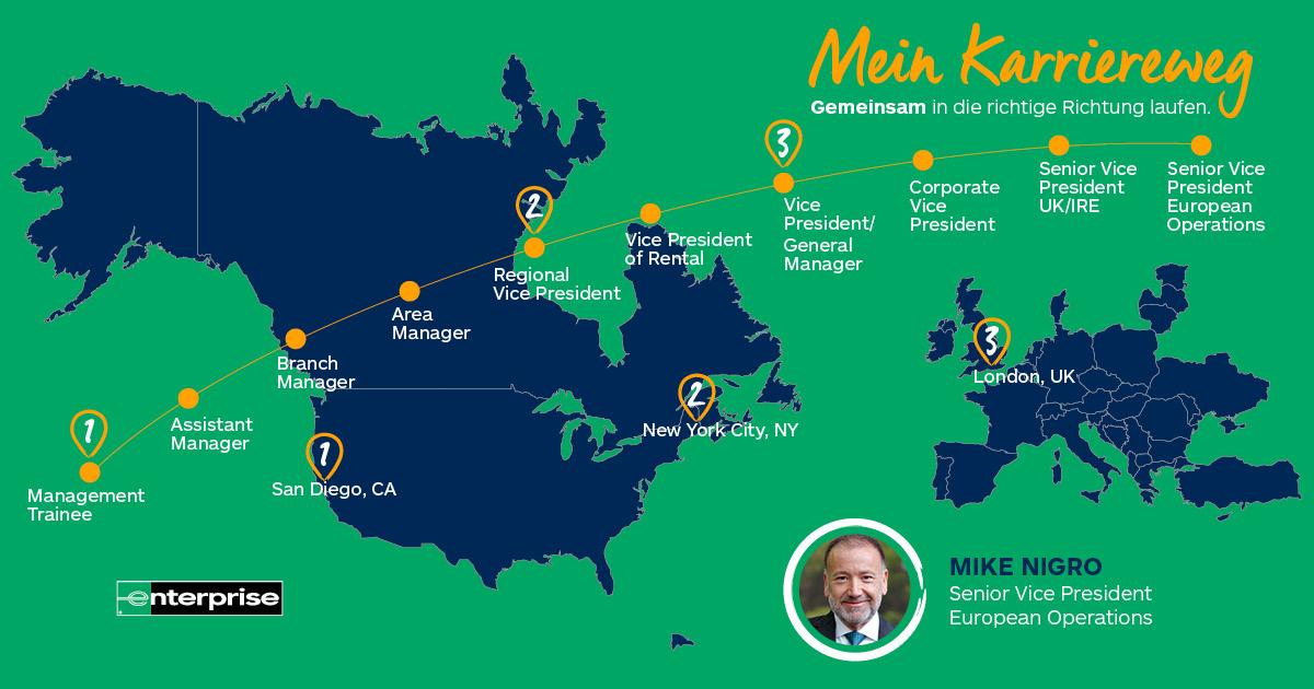Umgib dich mit großartigen Menschen - Interview mit Mike Nigro, Senior Vice President of European Operations